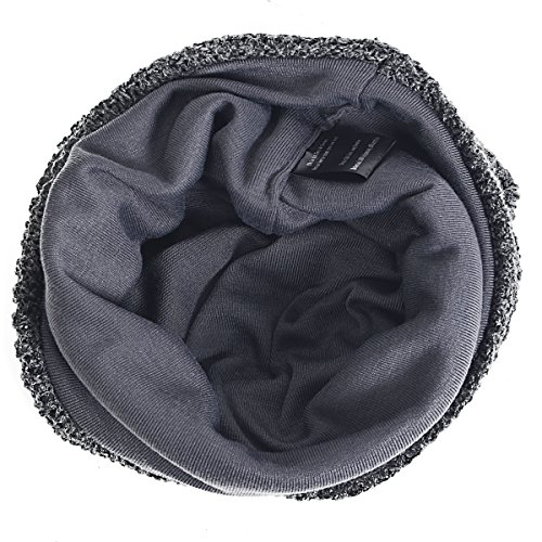 para de oscuro Hombre gris Punto FORBUSITE Gorro n4SxfqH