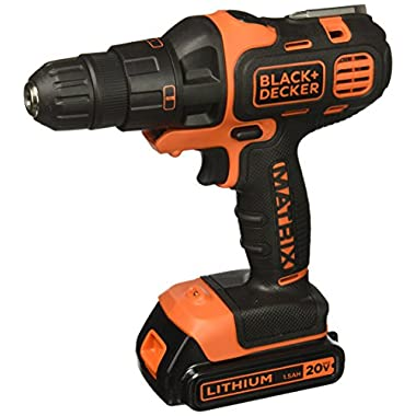 Black & Decker BDCDMT120IA 20-Volt MAX Lithium-Ion Matrix Drill and Impact Combo Kit