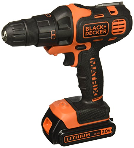 Best Impact Drill (Black & Decker BDCDMT120IA 20-Volt MAX Lithium-Ion Matrix Drill and Impact Combo Kit)