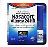 Nasacort Allergy 24 Hour Spray , 120 Sprays 0.57 fl oz