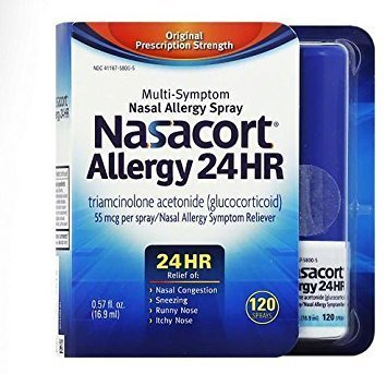 Nasacort Allergy 24 Hour Spray , 120 Sprays 0.57 fl oz by nasacort