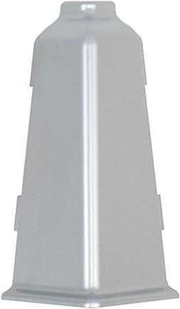 1 pc angle ext/érieur pour plinthe PVC Facile et test/é system dinstallation couleur: Chene blanc