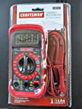 Craftsman Digital Multimeter AC DC 34-82141 Volt Test Ohmeter Electric
