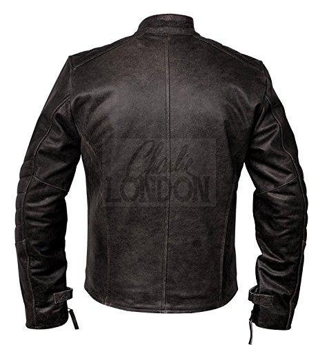 Biker Jacket Distressed Vintage Kendal Mens Leather 47ntXp