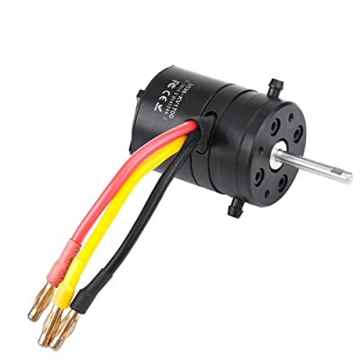 Xinwoer 2-4S 1700KV RC Motor, Remote Control Accessory 1700KV Water-Cooled Motor for RC Model Boat: Home & Kitchen