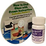 Armour Etch 3-Ounce Glass Etching Cream with Free