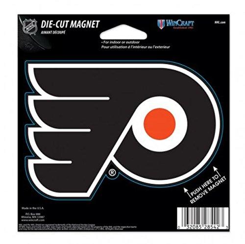 WinCraft NHL Phildelphia Flyers Color 4.5 x 6 Die Cut Magnet