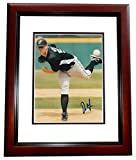 Dan Meyers Signed - Autographed Florida Marlins 8x10 inch Photo MAHOGANY CUSTOM FRAME - Guaranteed to pass or JSA - PSA/DNA Certified
