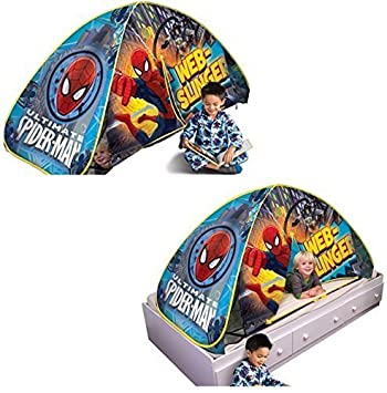Spiderman 2 in 1 Play Tent / Bed Tent  sc 1 st  Amazon.com & Amazon.com: Spiderman 2 in 1 Play Tent / Bed Tent: Toys u0026 Games