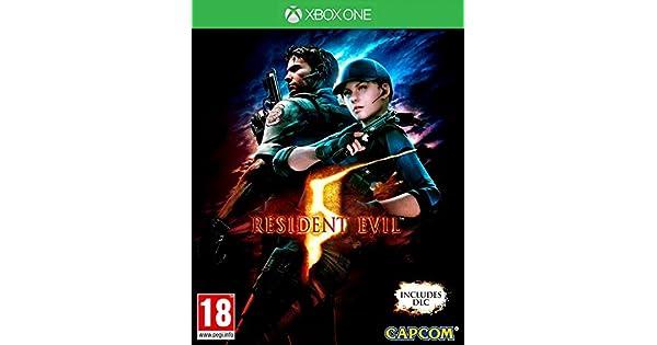 Resident Evil 5 Remastered Box UK - Game Multi : Xbox One , ML ...
