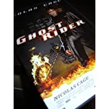 Ghost Rider / Region 2 PAL DVD / Audio: English, French / Subtitle: French / Starring: Nicolas Cage, Eva Mendes, Sam Elliot, Peter Fonda, Wes Bentley / Director: Mark Steven Johnson / 110 Minutes