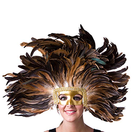 (Feather Headdress Mask -)