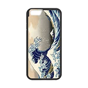 Canting_Good Hokusai The Great Wave off Kanagawa Custom Case Shell Skin for iPhone6 4.7 (Laser Technology)