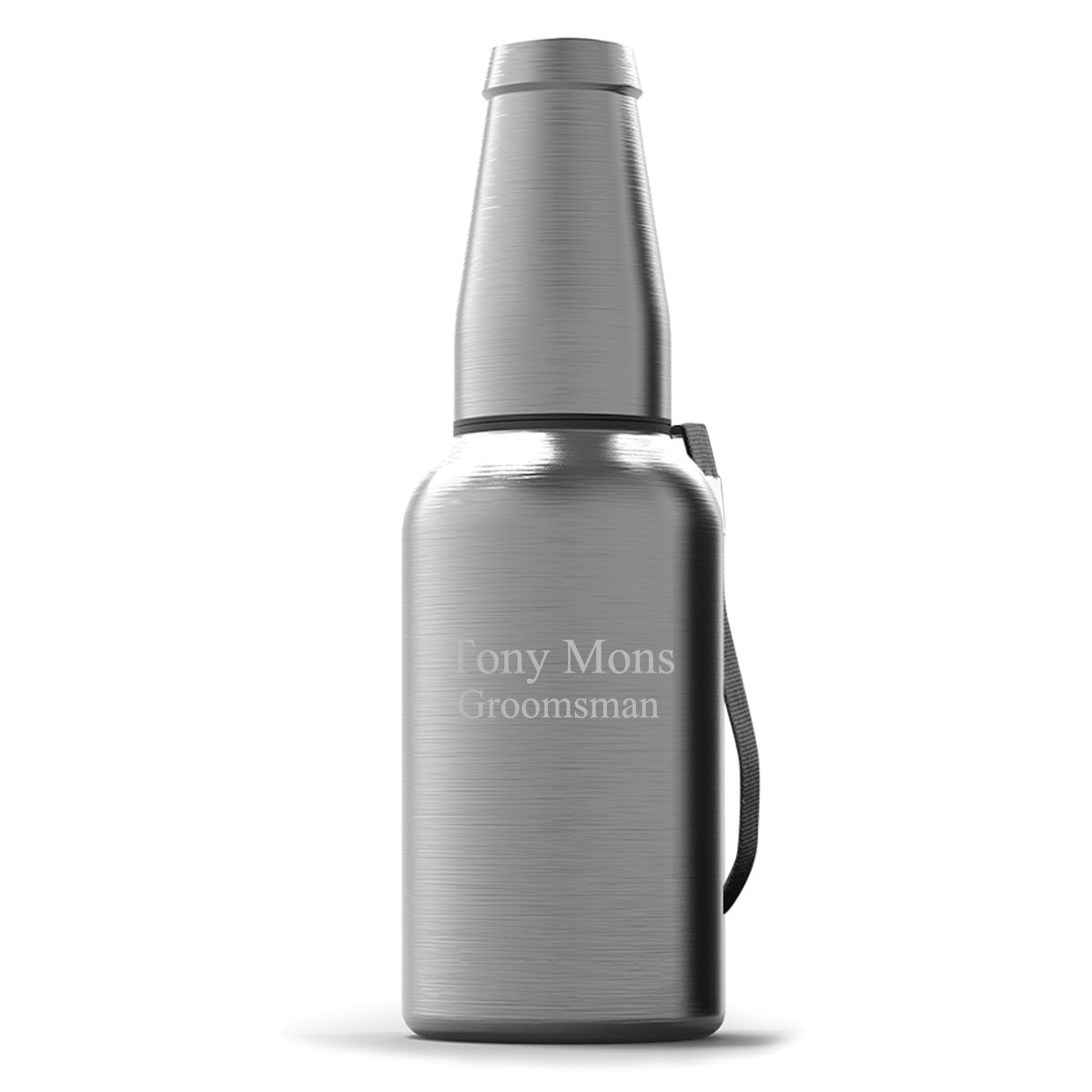 Personalized Insulated Stainless Steel Mighty Growler Set - 2Lines