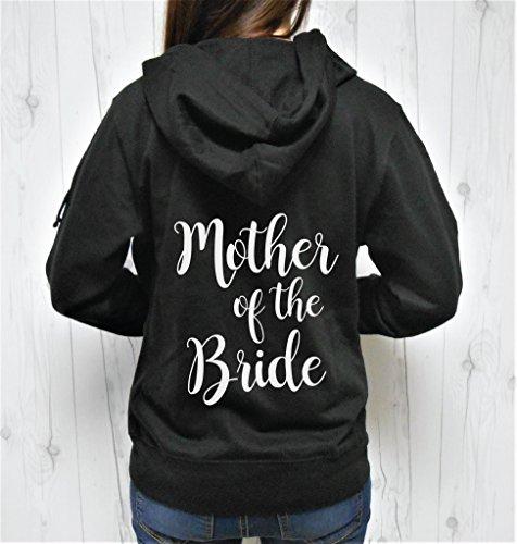 SGC Women's Mother of the Bride Hoodie, Mother of the Bride Zip-Up, Mother of the Bride Jacket, Cute Bridal Hoodie