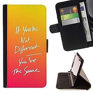 Tequila Sunrise Orange Sunset Message - Modelo colorido cuero de la carpeta del tirón del caso cubierta piel Holster Funda protecció Para Apple (4.7 inches!!!) iPhone 6 / 6S