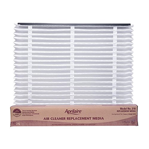 Aprilaire 210 Filter Single Pack for Air Purifier Models 1210, 2210, 3210, 4200 210 Single