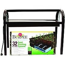 Burpee Exclusive Glow 'n Grow Tabletop Grow Light and Seed Starting Kit