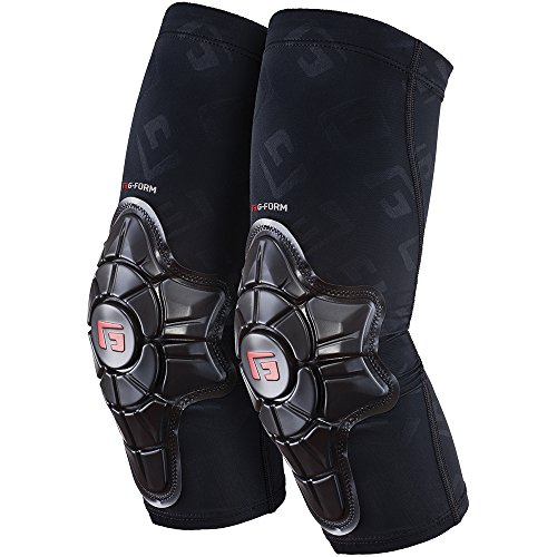 - G-Form Pro-X Elbow Pads(1 Pair), Black Logo, Youth Small/Medium