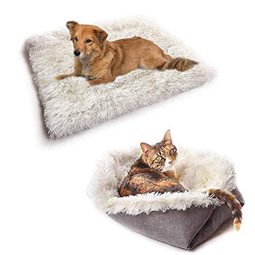 New-wish Tierbett für Katzen und Hunde, Kissen für Katzenbett waschbar, Sofa für Katzen und Hunde, leicht zu entfernen…