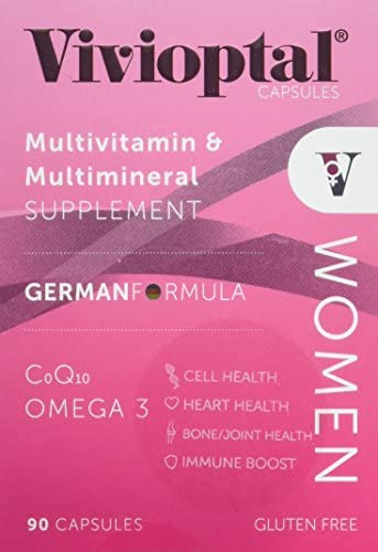 Vivioptal, Women, Multivitamin Multimineral Supplement, 90 Capsules