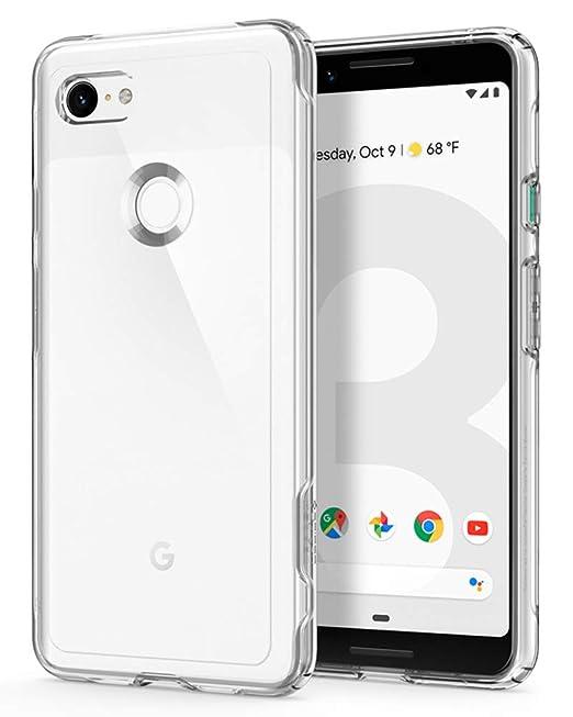 new concept 9108a 82109 Spigen Slim Armor Crystal Designed for Google Pixel 3 Case (2018) - Crystal  Clear