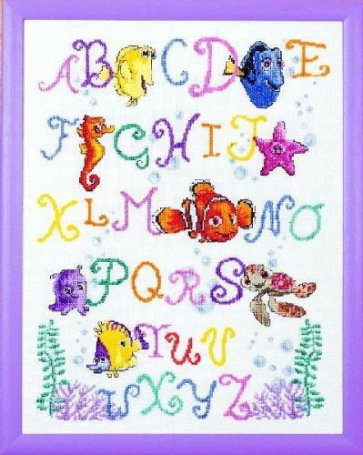 t Sampler - Cross Stitch Kit (Alphabet Sampler Kit)