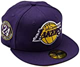 New Era NBA Kobe Bryant 59FIFTY Los Angeles Lakers, Talla 7'