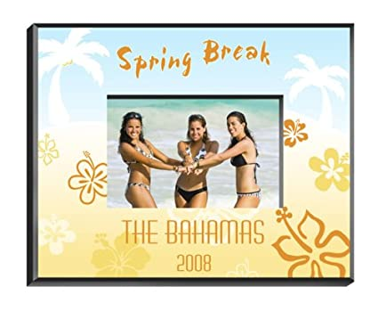 Amazon.com - Personalized Tropical Vacation Picture Frame - Single ...