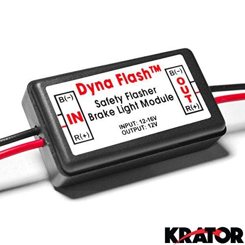 Krator Brake Taillight Flasher Rear Alert Back Off Light For Ford Super Duty F-100 Ranger F-150 Heritage F-250