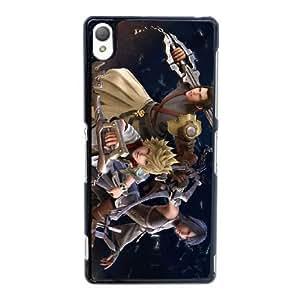 Sony Xperia Z3 Cell Phone Case Black Kingdom Hearts AS7YD3620707
