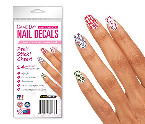 (Northern Iowa UNI Panthers Game Day Nail Decals (14 Strips))