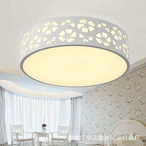 Ikea Lampadario Camera Da Letto.Gutog Moderno Minimalista Led Plafoniera Rotonda Illuminazione