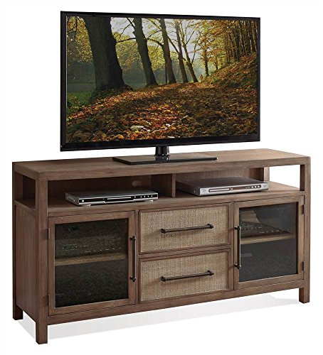 Riverside Furniture Entertainment Console with Adjustable Shelf