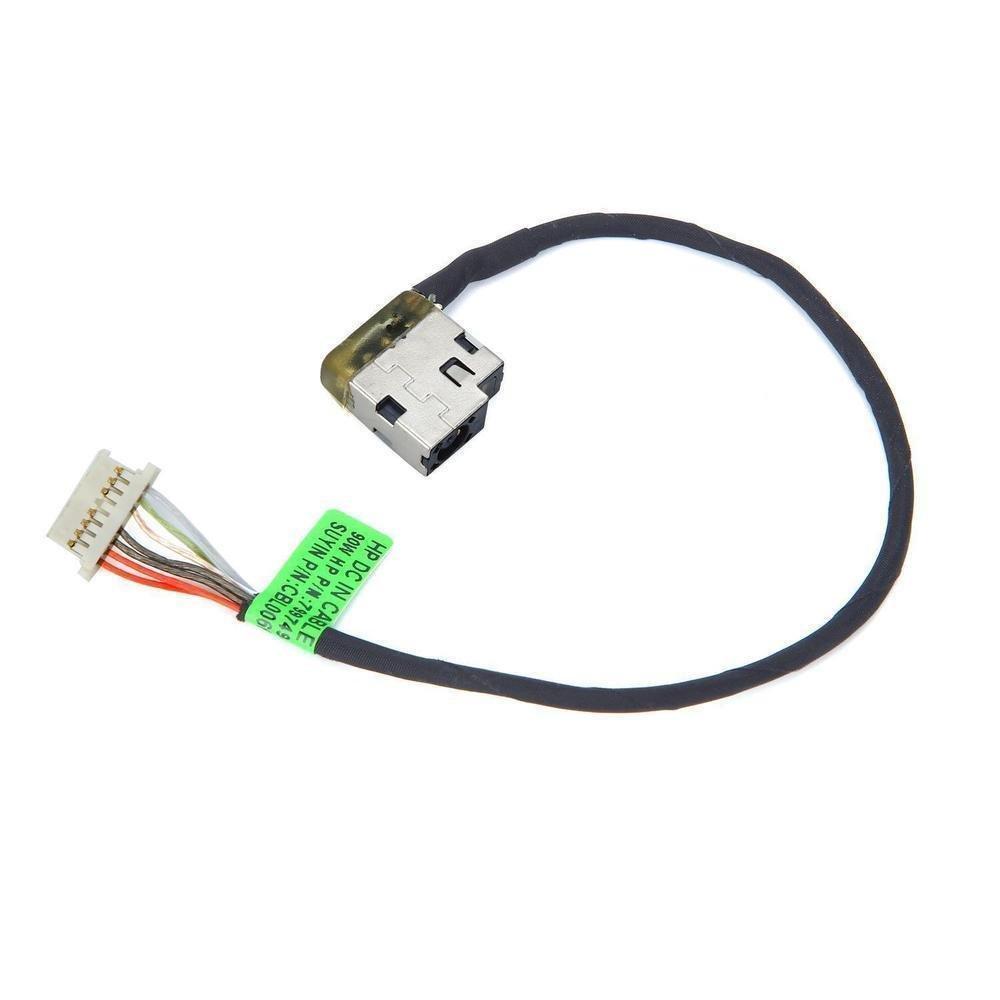 DBParts DC Power Jack Harness Cable For HP 15-AY008ns 15-AY008nt 15-AY008nu 15-AY008nv 15-AY008nx 15-AY008TX 15-AY009CY 15-AY009DS 15-AY009DX 15-AY009la 15-AY009na by DBParts (Image #1)