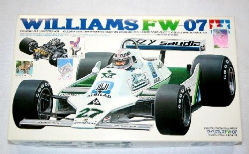 Tamiya 20014 Williams FW-07 1/20