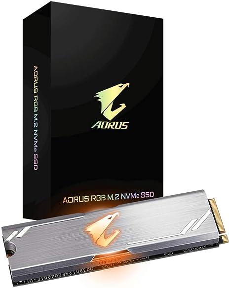Gigabyte Aorus RGB Unidad de Estado sólido M.2 256 GB PCI Express ...