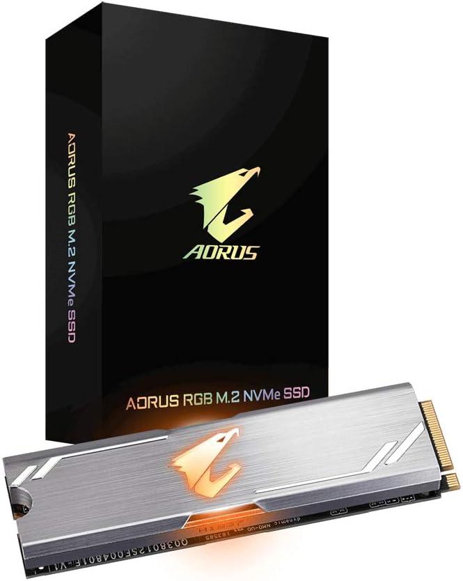 Gigabyte AORUS RGB M.2 NVMe SSD 512GB - Disco Duro M.2: Gigabyte ...