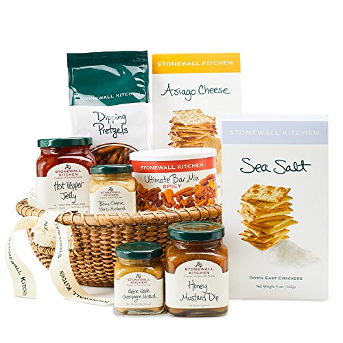 Stonewall Kitchen Hostess Gift - 8 Piece Basket by Stonewall Kitchen
