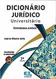 capa de Dicionário Jurídico Universitário