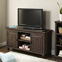 Crossmill Weathered Collection TV Stand for TVs up to 65, Heritage Walnut