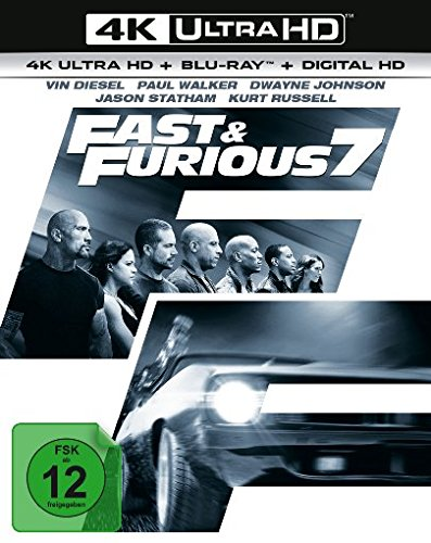 Fast & Furious 7 - Extended Version  (4K Ultra HD) (+ BR) [Blu-ray]
