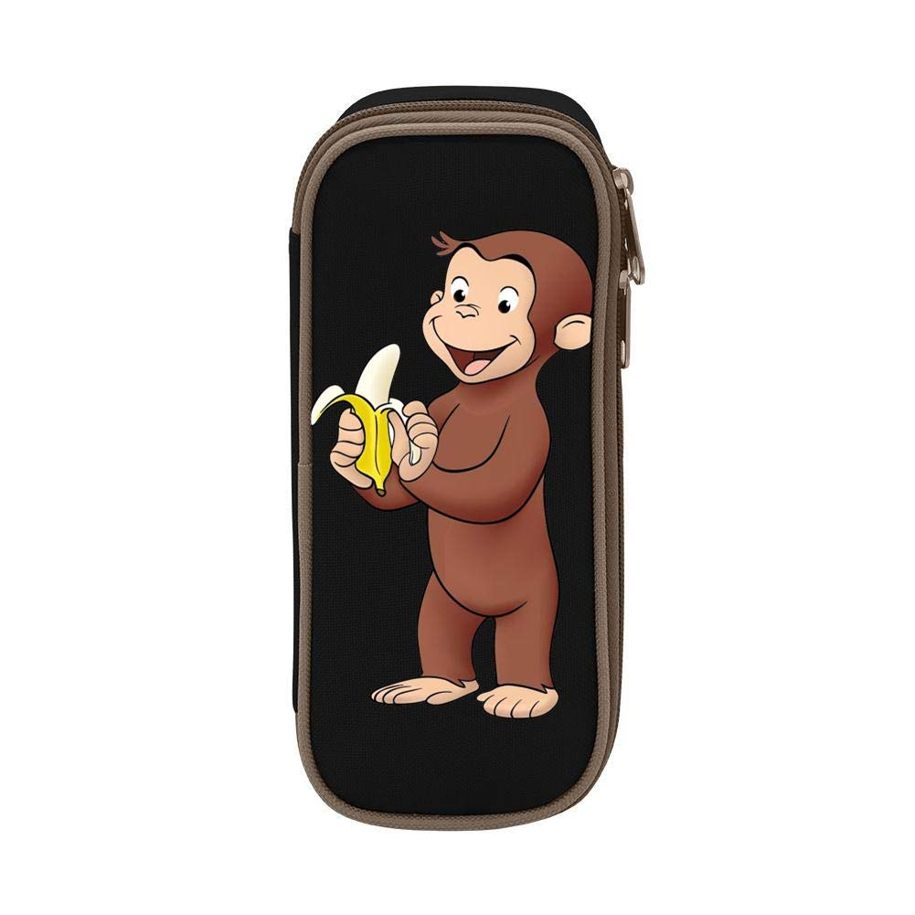 Amazon.com: FTIAL Curious George Eat Banana Estuche de gran ...