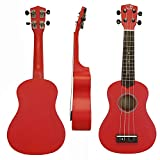 """21"""" Youth Series Soprano Ukulele by Tikan Sound - Rosewood fingerboard & Basswood body (Candy)"""