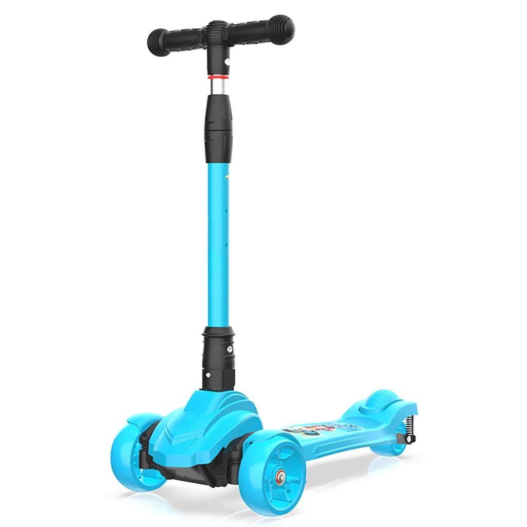 子供のための3輪スクーター - 衝撃吸収システム、PU点滅ホイール、折りたたみ式デザイン   B07QX68Y82, フリースタイルジャパン 9462c3db