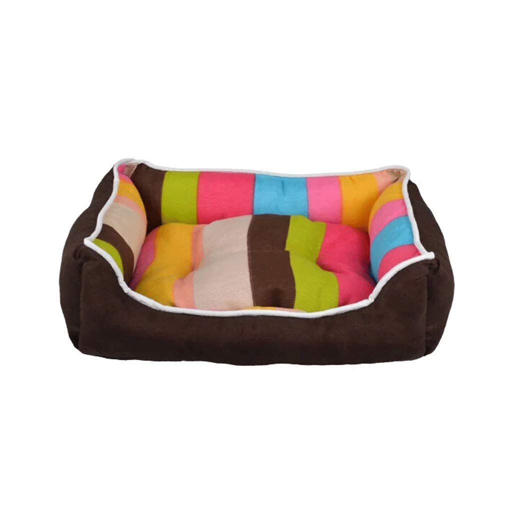 5  4540cm 5  4540cm Pet Bed Kennel Cat Litter Pet Nest Small and Medium Dog Washable Dog House Supplies Four Seasons Universal Warm Dog Bed Dog Mat A+ (color   5 , Size   45  40cm)