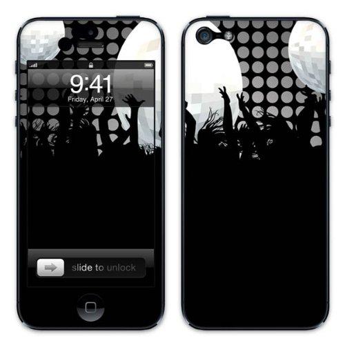 Diabloskinz B0081-0004-0029 Vinyl Skin für Apple iPhone 5/5S Party Crowd