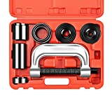 Heavy Duty Ball Joint Press & U Joint Removal Separator Tool Kit with 4x4 Adapters, for Most 2WD and 4WD Cars and Light Trucks