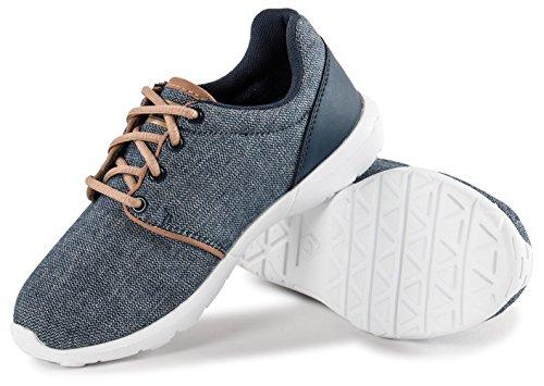 Le Coq Sportif Dynacomf Gs Craft - Zapatillas de deporte Unisex niños gris claro