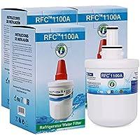 Compatible Replacement for Samsung DA29-00003G, DA29-00003, HAFCU1, HAFCU1/XAA, HAFIN2/EXP, WF289, WSS-1 Refrigerator water Filter Cartridge by OnePurify RFC1100A 3PK